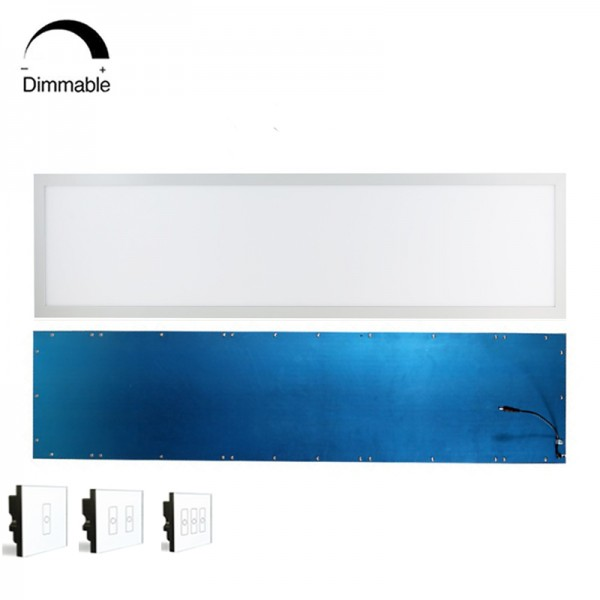 Acrylic Light Guide Plate 30x120cm DALI Dimmable LED Flat Ceiling Panel Light