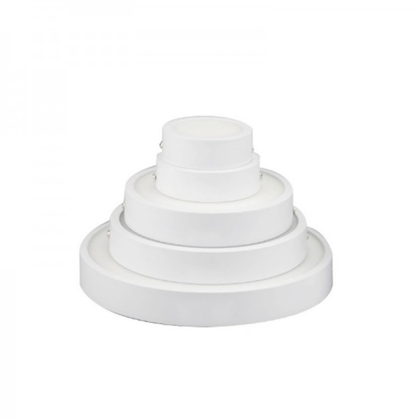 6W 120mm Surface Mounted Round LED Panel Downlight