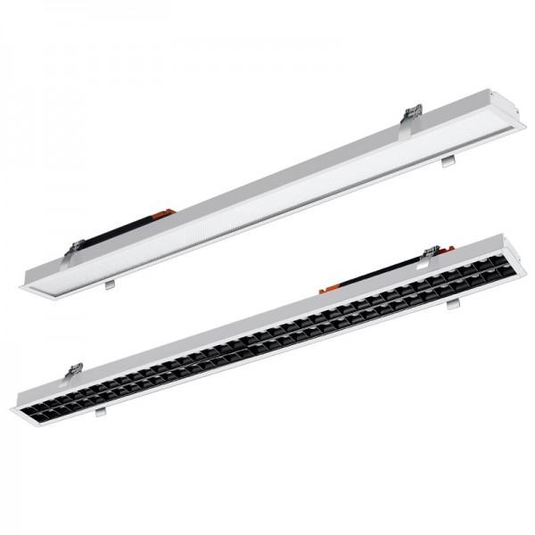18W 36W 60cm 120cm Recessed Dimmable Seamless LED Linear Light