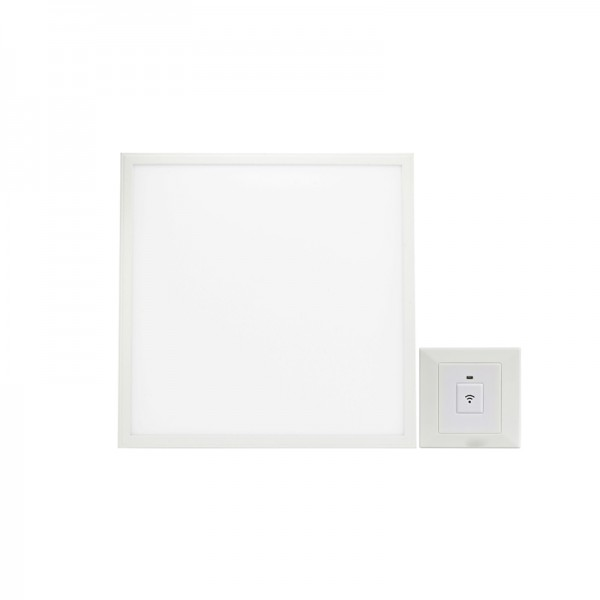 36W 40W 595×595 Sound & Light Sensor LED Panel Light 600×600