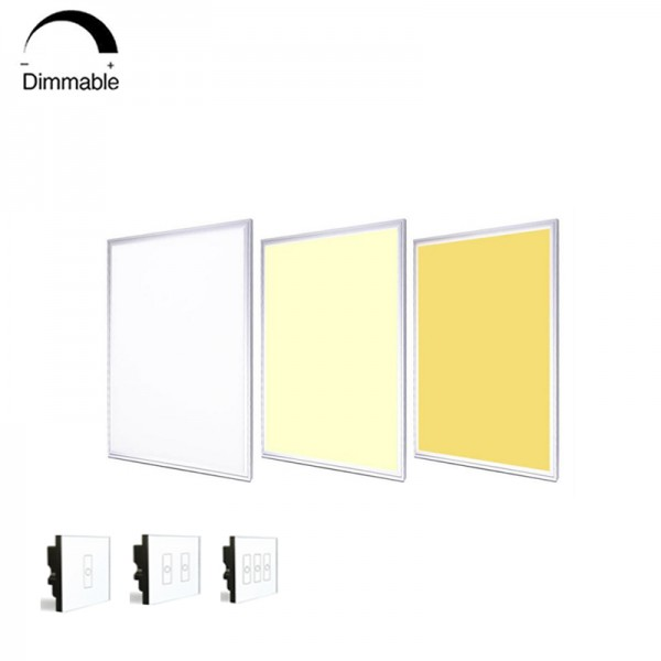 36W DALI Dimmable LED Grille Ceiling Panel Light 60×60