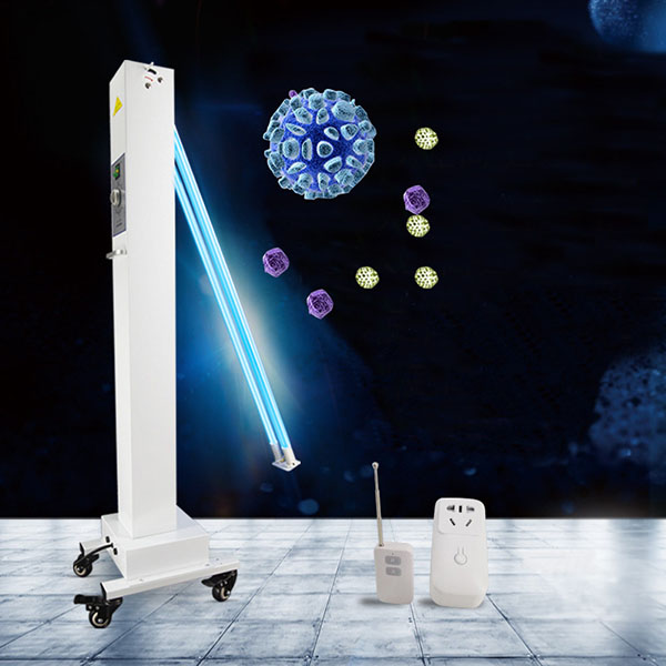 Mobile UV Ultraviolet disinfection lamp uvc germicidal lamp for indoor uv sterilization