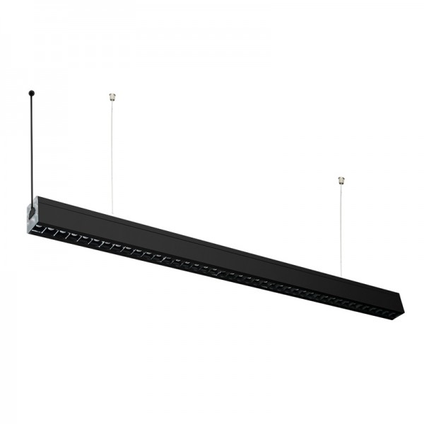 High definition Curved Linear Led Light - UGR<19 Linkable 600mm 800mm 1000mm LED Linear Pendant Light – Lightman