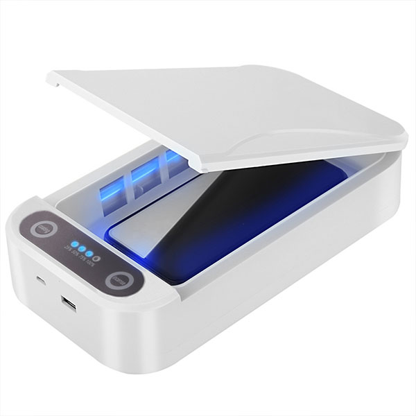 2020 Fast delivery in stock 99% mobile phone uvc portable disinfection light cleaning uv sanitizer sterilizer box