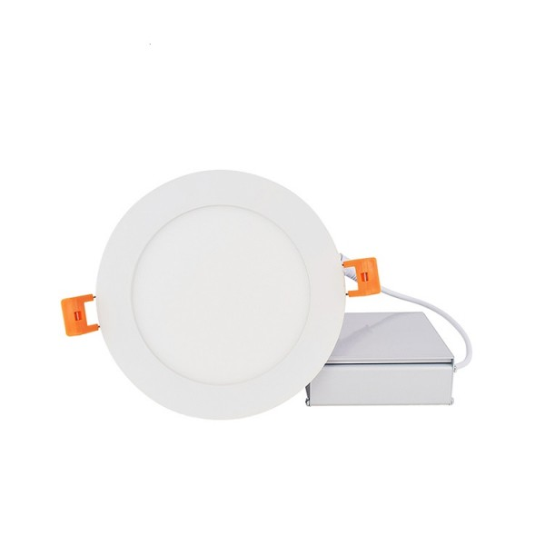 Die Casting Aluminum 5W 6W 5inch Recessed UL DLC Round LED Panel Light