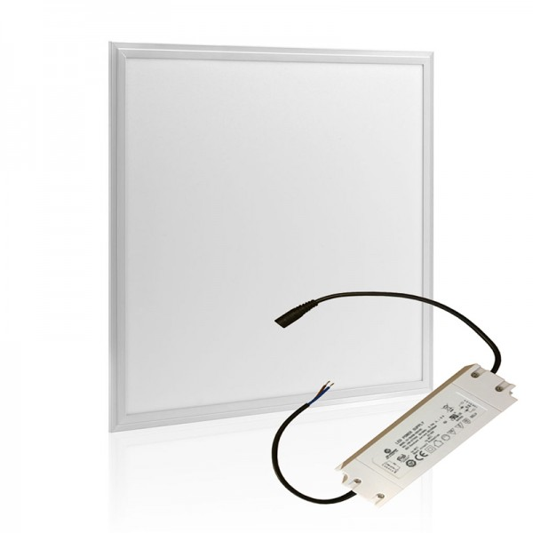 White Frame 60W Surface Mounted LED Panel Lighting 595×595