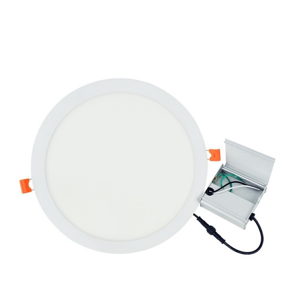 White Acrylic 20W 24W 12inch Dimming Round LED Ceiling Panel Lamp 300mm