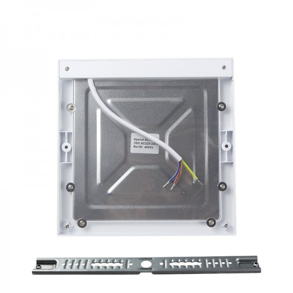 18W 24W Square Motion Sensor LED Slim Panel Downlight