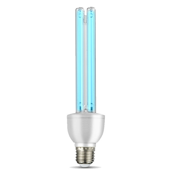 UVC E27 Remote Quartz Germicidal Sterilization CFL Ozone Lamp bulb Ultraviolet light E27 base for disinfect bacterial kill new coronavirus