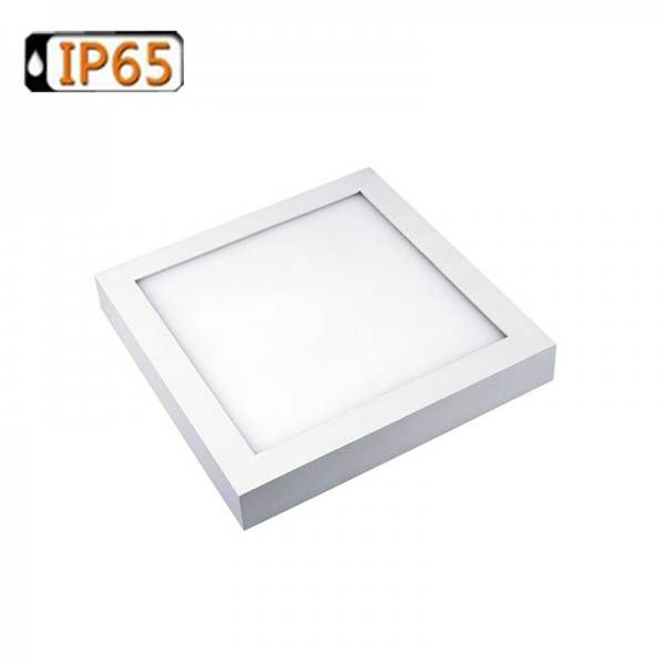 240×240 Square Surface Mounted IP65 Rating LED Ceiling Panel Downlight