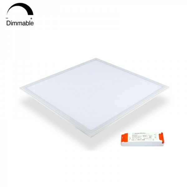 36W 40W TUV VDE DALI Dimmable LED Slim Panel Light 62 62