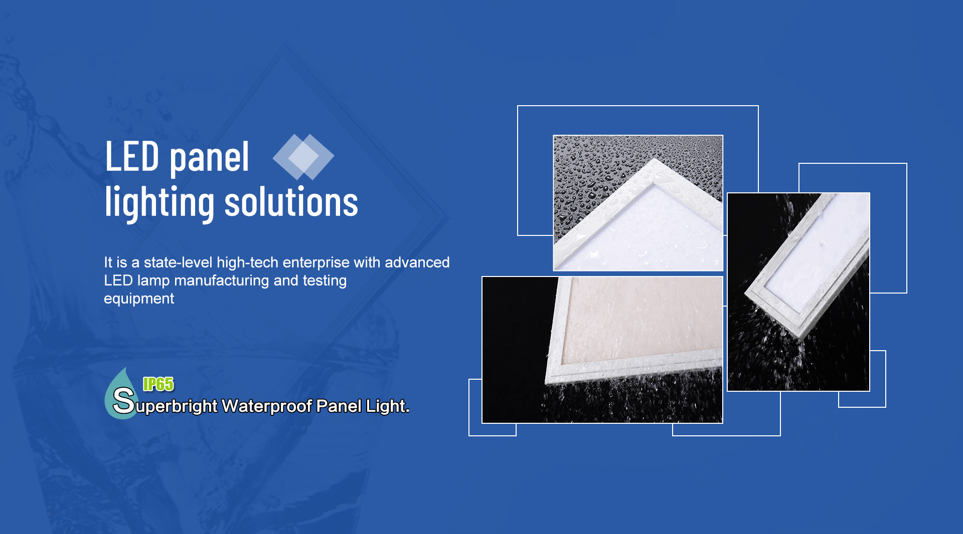Waterproof LED Panel Light