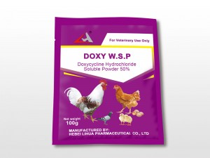 Doxycycline hydrochloride soluble powder 50%