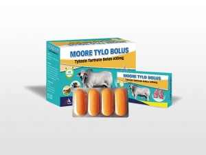 Tylosin Tartrate Bolus 600mg