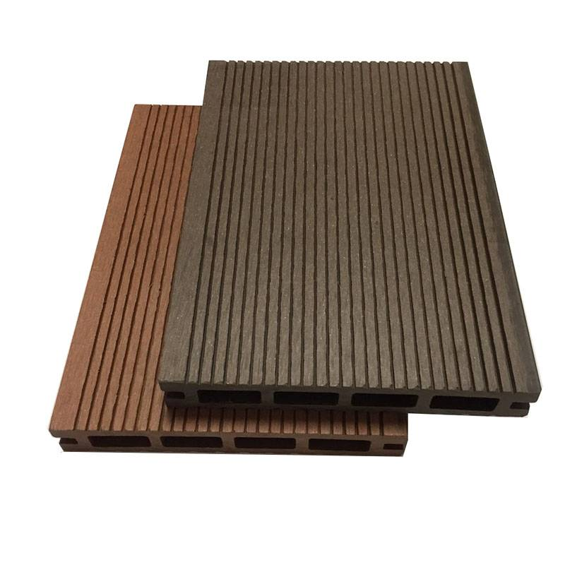 Anti-slip Low Maintenance Wood Composite WPC Decking