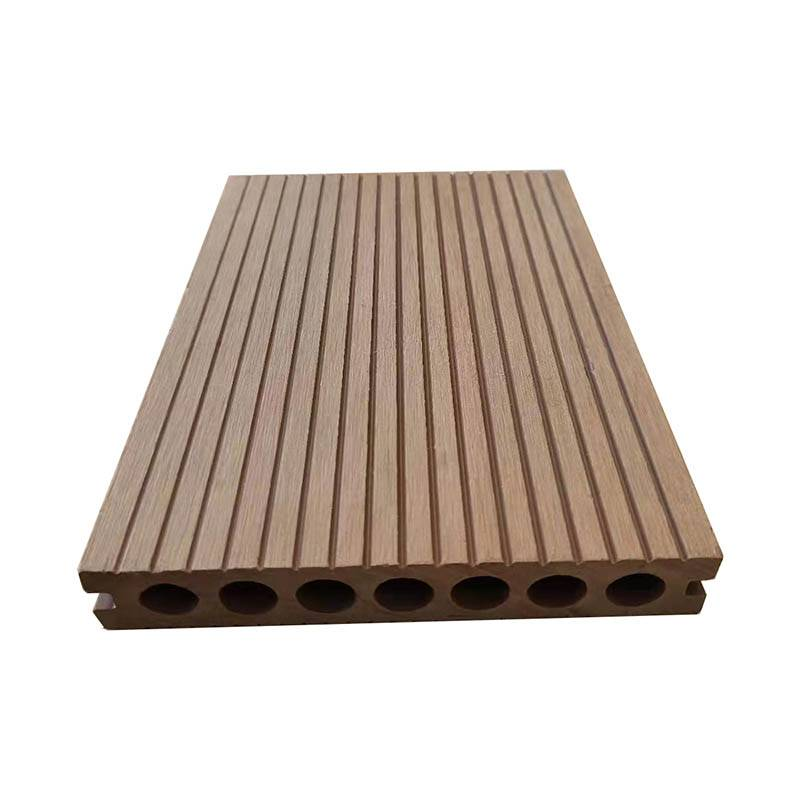 UV-resistance Fireproof Wood Composite Hollow Decking