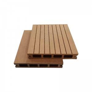 Low Maintenance Anti-Slip WPC Hollow Decking Exterior