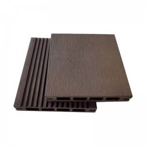 Easy installation Outdoor Composite Hollow Decking