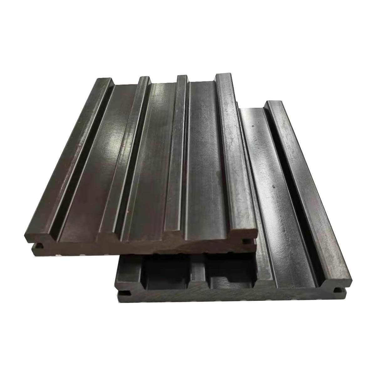 Anti-Slip Wood Plastic Composite WPC Solid Decking