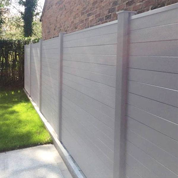 Outdoor Waterproof Garden WPC Fence Screen For Privacy