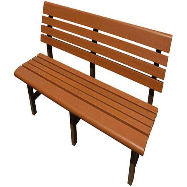 High Quality Wholesale Garden Bench Wood Plastic WPC  Park Bench Panels
