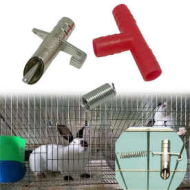 Rabbit metal nipple drinking tools  (1)969