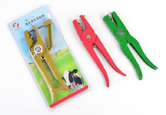 Ear tag pliers for pig sheep cattle  (1)1534