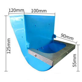 Rabbit food feeder trough (1)1425