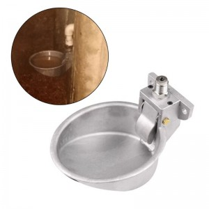 Cattle Calf Cow Aluminum Water Drink Bowl
