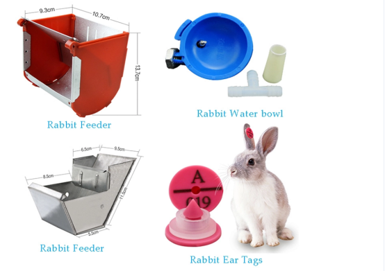 Rabbit food feeder trough (1)1499