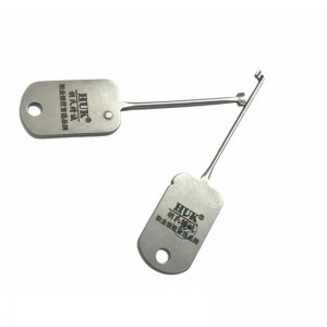 LOCKSMITHOBD HUK 2IN1 Lock Picks for padlock 2 type