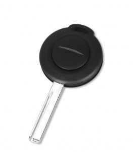 mitsubishi 2 button remote key blank (can put TPX long chip) -no logo