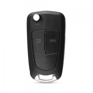 Opel 2 button flip remote key blank
