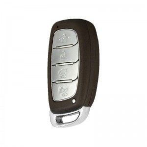 New Hyundai IX35 Smart key blank 4 buttons