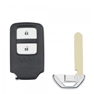 Honda 2 button remote key blank with blade
