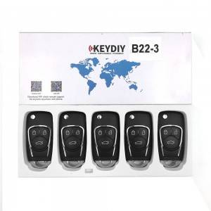 China Cheap price Replacement Car Keys And Fobs - KEYDIY KD B22-3 Universal Remote Control FOR KD900 – Locksmithobd