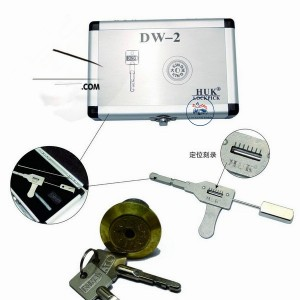 LOCKSMITHOBD HUK Lock Pick Quick OpenerTool for the house lock and safe box DW-2