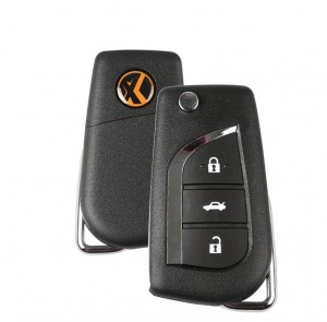 Xhorse Wireless XN008 Universal Remotes Key 3 Buttons Toyota Style For VVDI Key Tool