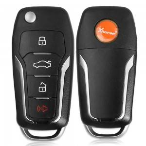 10PCS/LOT ْXhorse Universal Wireless Flip Remote Key for Ford Style 4 Buttons XNFO01EN