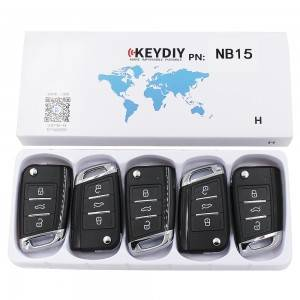 KEYDIY NB series NB15 button universal remote control  for KD-X2 mini KD
