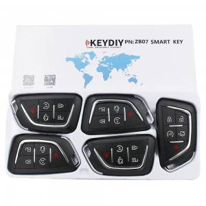 KEYDIY ZB series ZB07-5 button universal remote control  for KD-X2 mini KD