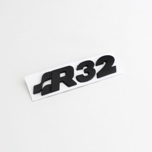 R32 Rear Trunk Tailgate Badge Emblem Sticker fit for Golf Mk4 R32