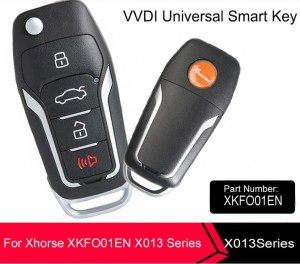 Xhorse  X013 Universal Remote Key Fob 4 Button for Ford Style for VVDI Key Tool