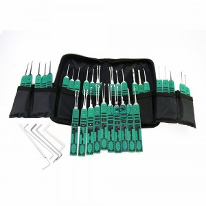 LOCKSMITHOBD Klom 32set  lock pick set for padlock opener