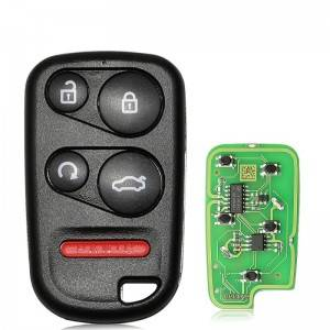 10PCS/LOT XKHO03EN XHORSE Universal Remote Key Fob With Remote Start Button for VVDI Key