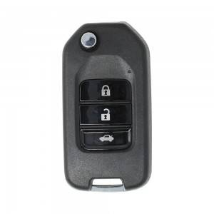 10PCS/LOT ْXhorse VVDI Universal Wireless Flip Remote Key 3 Buttons Honda Type XNHO00EN