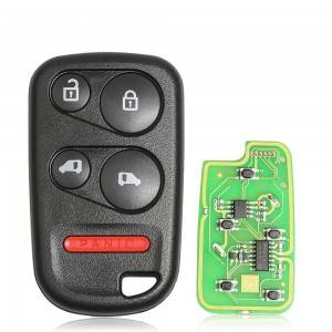 10PCS/LOT XKHO04EN XHORSE Universal Remote Key Fob With Remote Start Button for VVDI Key