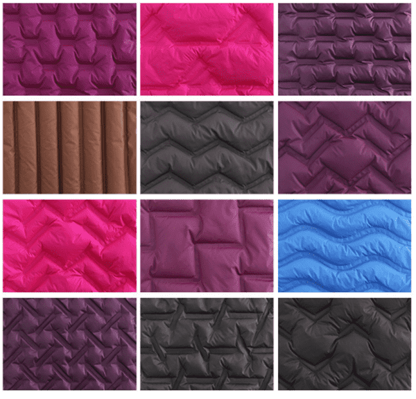 customed channel fabric patterns