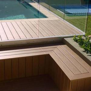 PVC Vinyl Outdoor Plastic Decking