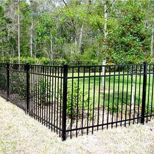 Aluminum Fence Section